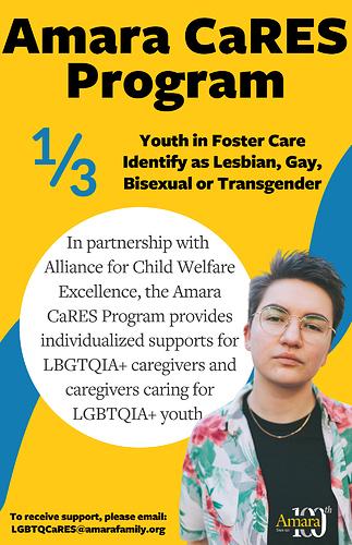 Amara CaRES LGBTQIA+Flyer