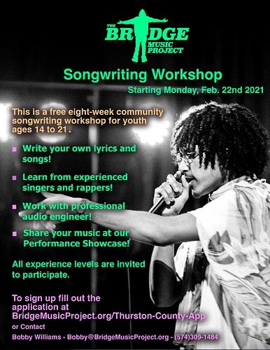 Community Workshop Oly Promo Poster Winter 2021