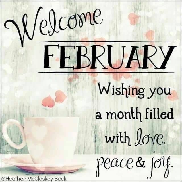 Welcome Feb